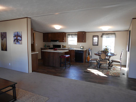 Clayton Homes  Bedroom Bath Front Kitchen